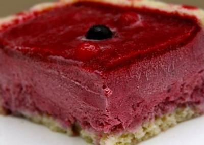 bavarois fruit rouge