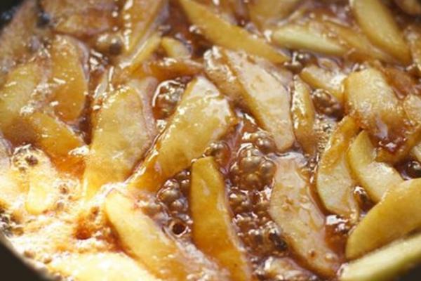 crepe au pomme