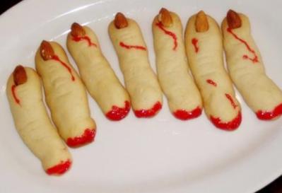 Biscuits doigts de sorcieres