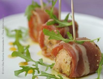 bonbons de foie-gras