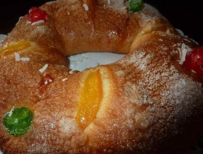 Brioche des rois au sucre