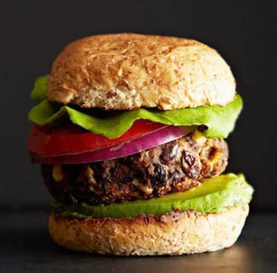 Burgersvégétarien aux haricots noirs20131005
