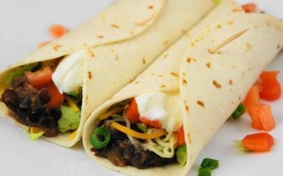 Burritos aux haricots sautes20060901