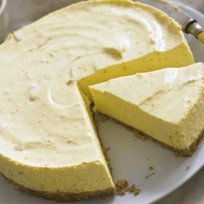 Cheesecake au citron 2013