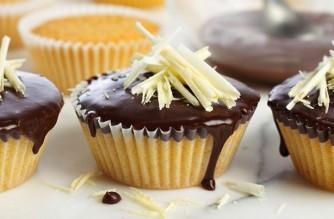 Cakes au nappage chocolat