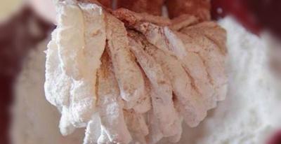 Chrysantheme de poisson sauce aigre douce