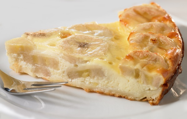 Clafouti poire/ banane