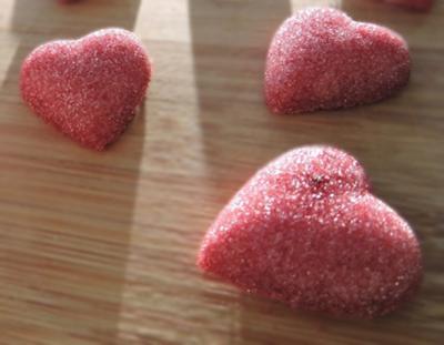 Coeurs en sucre pour la saint valentin20160209