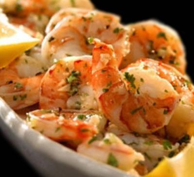 Crevettes à l'ail à l'italienne20150929