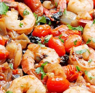 Crevettes puttanesca17062015