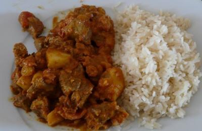 Curry d agneau
