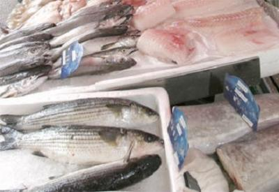 Découpe et  présentation les poissons