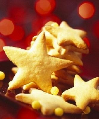 Étoiles vanille citron