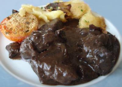 Filet de biche au vin rouge2012