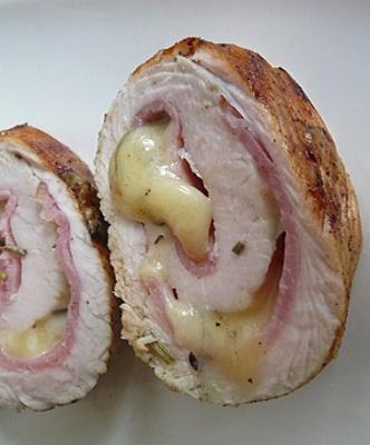 Filet de poulet farci au morbier2012