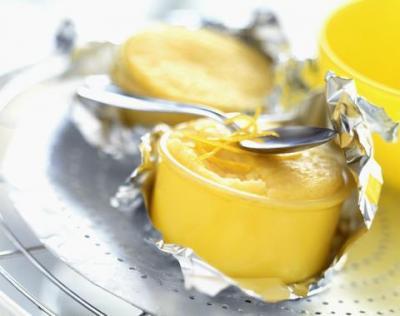 Flan au fromage au citron