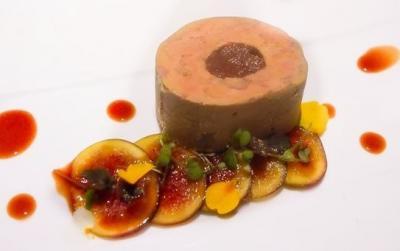 Foie gras aux figues epices et porto