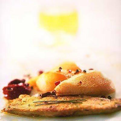 Foie gras sauce aux miel