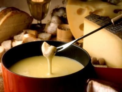 Fondue aux trois fromages
