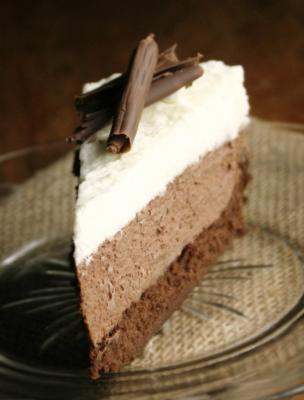 Gateau 3 chocolat