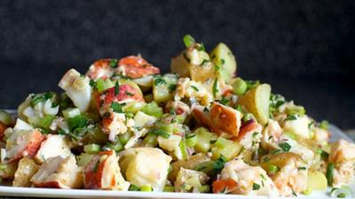 Homard et salade de pommes de terre20152503