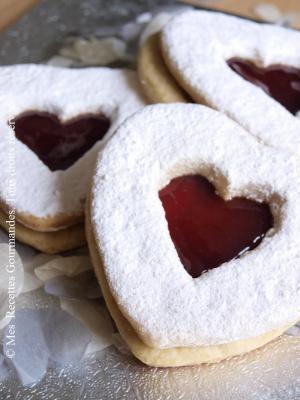 Biscuits Italien à la confiture de fraise