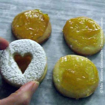Biscuits Italien à la confiture