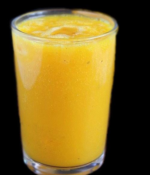Jus de mangue fraiche au lait de coco2016