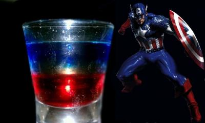 Cocktail ,CAPTAIN AMERICA