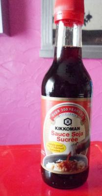La sauce soja sucree