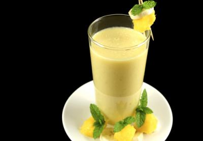 smoothie a la mangue