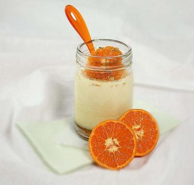 Mousse a la clementine