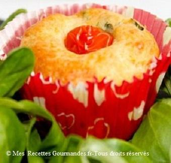 muffins tomate cerise et fromage