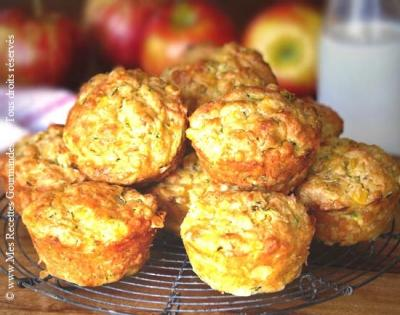 muffins d'epinards