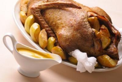 Oie rotie aux pommes2012