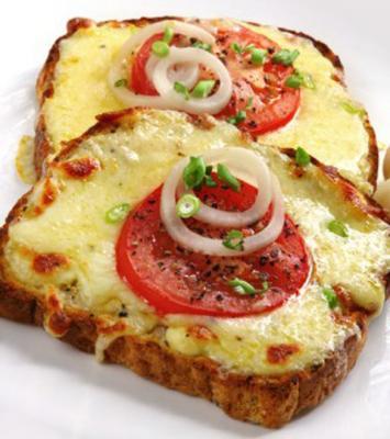 Pain tomate mozzarella