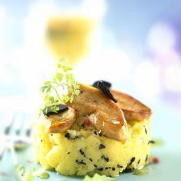 Parmentier de pommes de terre et foie gras 2009