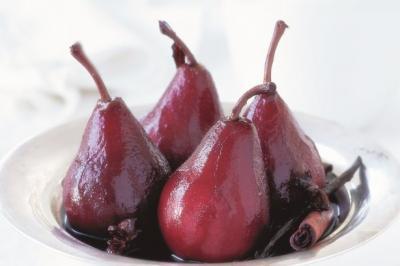 Poires jus de cranberry 2