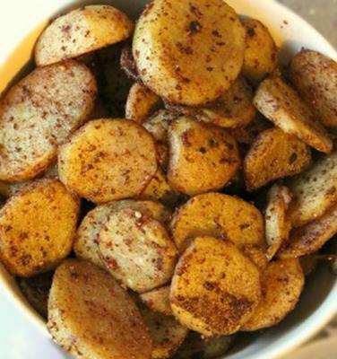 Pommes de terre roties au pain d epice 2008
