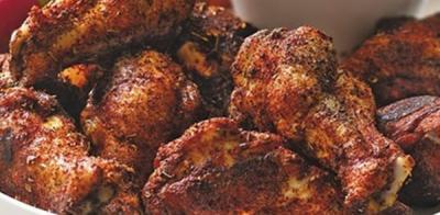 Ailes de poulet épicé au four20150303