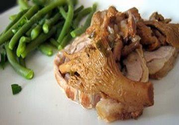 Roti de veau aux girolles20091020