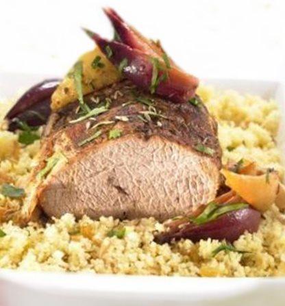Roti de veau de pentecote aux epices20051505