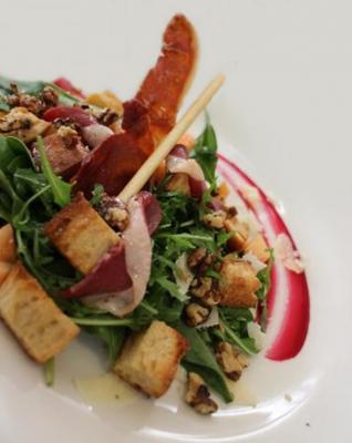 Salad folle et foie gras20150529