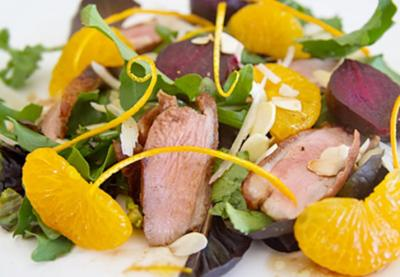 Salade de canard, Betteraves et oranges11201508