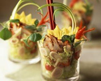 Verrine de salade de poulet tandoori a l ananas20070615