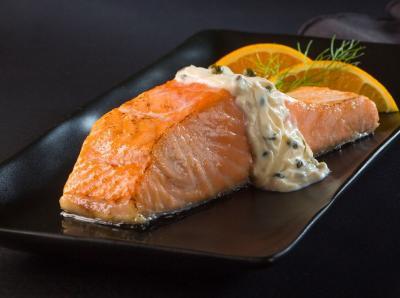 Salmon sauce au poivre20130926