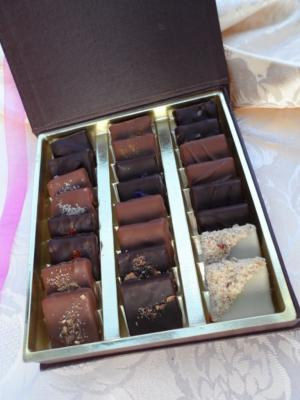 conte de feves chocolats