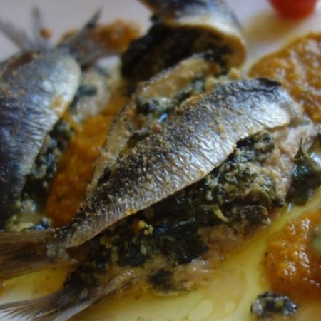 Sardines farcies a la nicoise