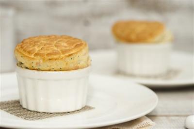 Souffles au foie gras