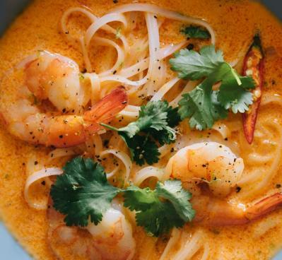 Soupe thai au curryrouge20160604
